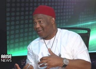 Senator Hope Uzodinma | Screengrab from Arise TV
