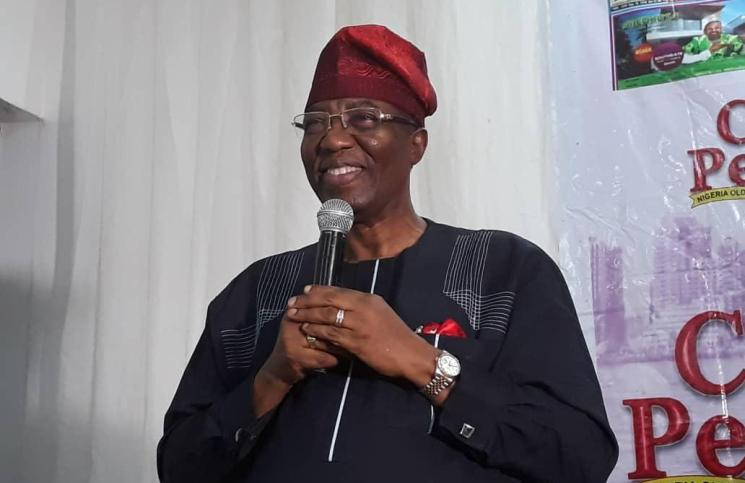 Otunba Gbenhga Daniel, a former governor of Ondo State and erstwhile campaign director-general for the Atiku Abubakar Presidential Campaign of 2019