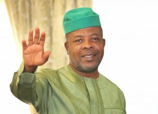 Emeka Ihedioha, the guber candidate of the People's Democratic Party, PDP in Imo State