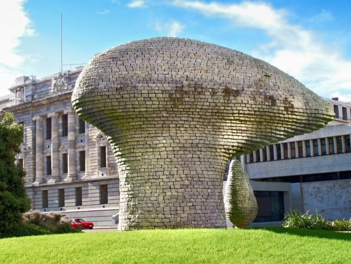 A landmark at Wellington, New Zealand
