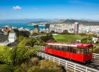 Wellington, New Zealand cable car