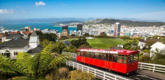 Wellington, New Zealand cable car