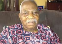 Pa Reuben Fasoranti, the leader of Yoruba socio-political group, Afenifere