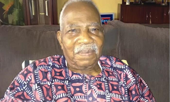 Pa Reuben Fasoranti, the leader of Yoruba socio-political group, Afenifere
