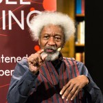 1986 Nobel Prize winner in Literature Wole Soyinka