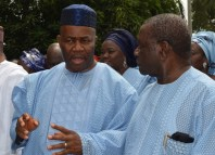 Former Akwa Ibom State Governors, Godswill Akpabio and Obong Victor Attah | Ndokwa Daily