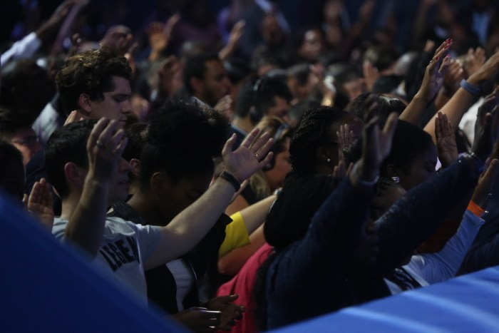 Guests are overwhelmed with the spiritual awakening that took place at the World Evangelism Conference with Pastor Chris Oyakhilome
