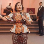 Funke Felix-Adejumo, a pastor and public speaker. Wife of the presiding pastor of Agape Christian Ministries in Akure, Ondo State