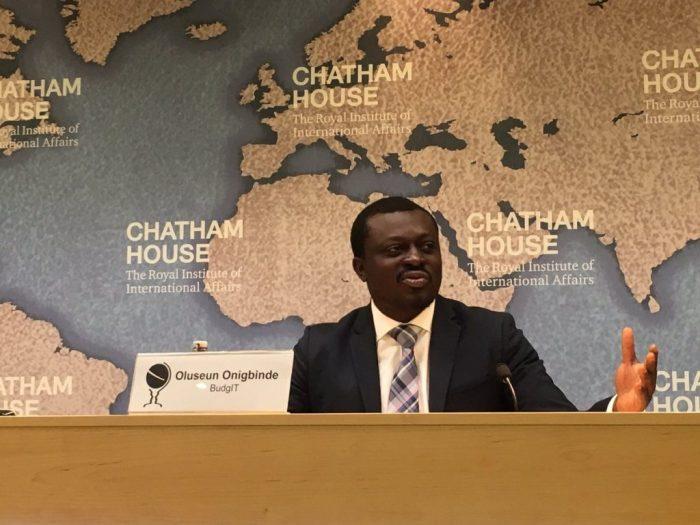 Seun Onigbinde, the co-founder of BudgITSeun Onigbinde, the co-founder of BudgIT