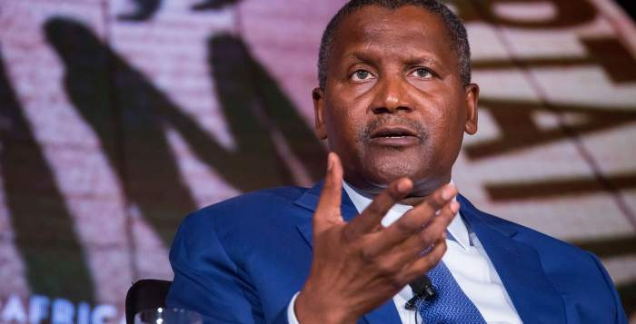 Dangote Group founder Aliko Dangote is the world's richest black person.