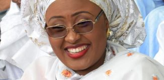 Presidential Jet , Aisha Buhari, wife of the Nigerian President Muhammadu Buhari