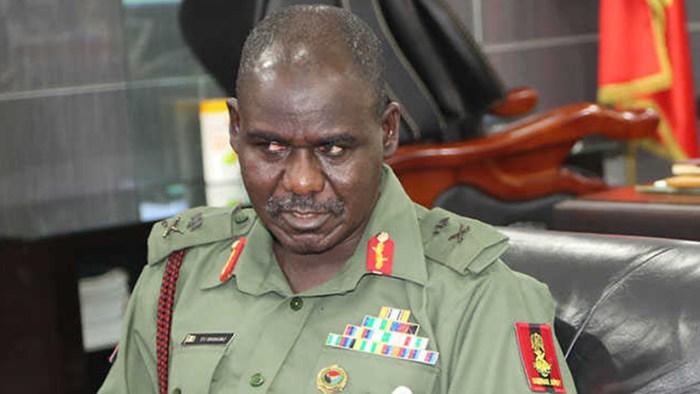 The Chief of Army Staff, Lieutenant General Tukur Yusuf Buratai
