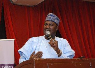 "Senator Aliyu Sabi Abdullahi, representing Niger North on the platform of the All Progressives Congress sponsored a ""Hate Speech' Bill which prescribes a death sentence for fake news"