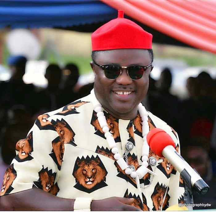 Professor Ben Ayade, the governor of Cross River State