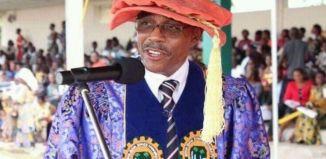 Professor Eno Ibanga, the vice chancellor of Akwa Ibom State University