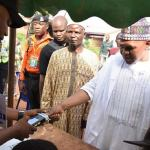 The Peoples Democratic Party (PDP) governorship candidate in Kogi State, Engr Musa Wada, has been accredited and cast his vote. Read more at: https://www.vanguardngr.com/2019/11/kogidecides2019-musa-wada-of-pdp-cast-vote/