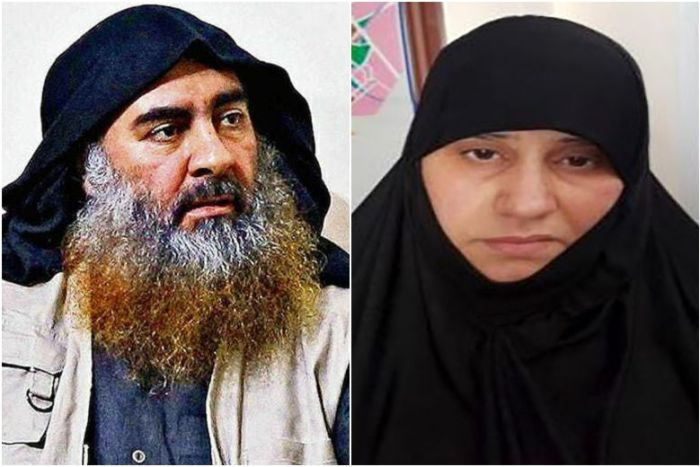 "Asma Fawzi Muhammad Al-Qubaysi was said to be the ""first wife"" of Abu Bakr al-Baghdadi, who was killed in a US special forces raid.PHOTOS: EPA-EFE, AFP"