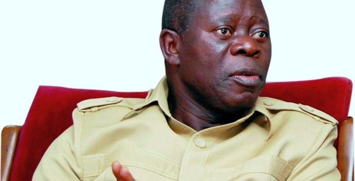 Adams Oshiomhole, the national chairman of the All Progressives Congress, APC