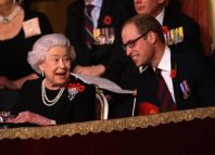 Queen Elizabeth, Prince William