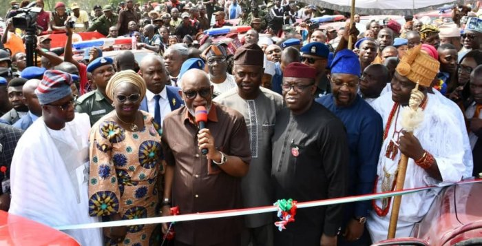 Amotekun: Governors of the South West at the launch of the Western Nigeria Security Network, WNSN in Ibadan, Oyo State on Thursday, January 8, 2019
