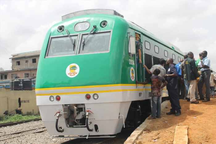 File Photo of Abuja Kaduna Rail Line