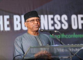 Osagie Ehanire, Nigeria's health minister