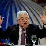 Mahmoud Abbas, Donald Trump