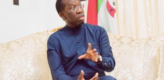 Isolation Delta Senator Ifeanyi Okowa, the governor of Delta State