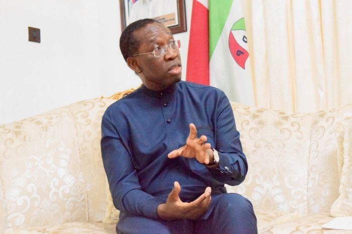 Senator Ifeanyi Okowa, the governor of Delta State