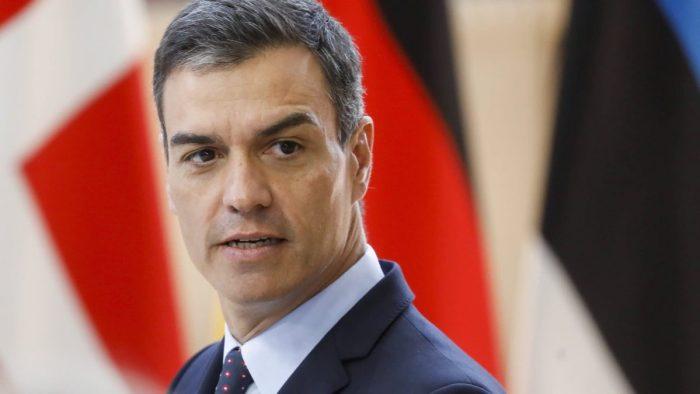 Spain prime minister pedro sanchez