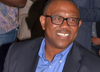 Peter Obi, 2019 vice presidential candidate of the PDP and former governor of Anambra