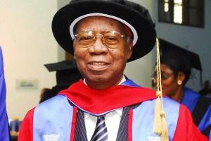Nigeria's First Professor Of Medicine, Emeritus Prof Akinkugbe ...