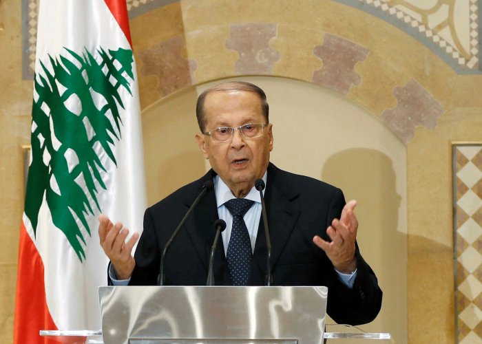 Michel Aoun, President of Lebanon