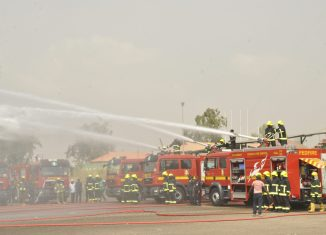 FEDERAL FIRE SERVICE collapsed tanker theatre