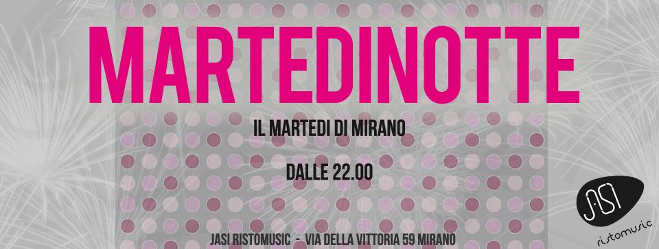 banner martedinotte