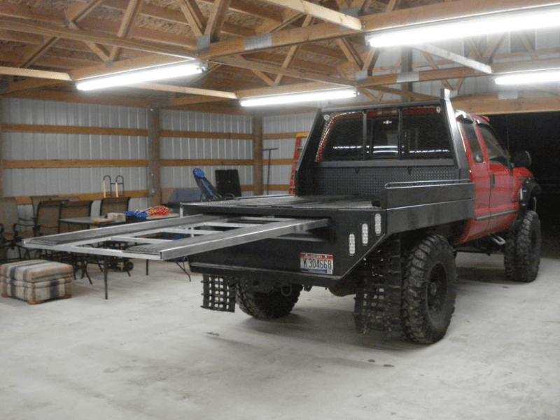 flatbed bed ideas the truck stop