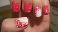 40 Inspiring Polka Dot Nail Art Designs