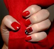 ladybug nail art design tutorial