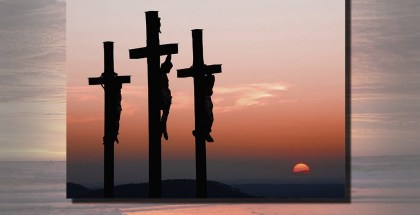 Christ on the Cross with two Criminals