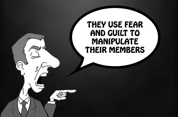 The WMSCOG Uses Fear and Guilt to Manipulate Its Members