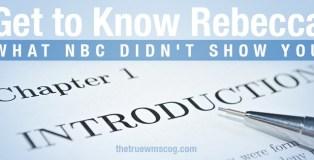 Get to Know Rebecca Gardner