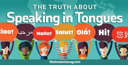 The Truth About Speaking in Tongues Picture