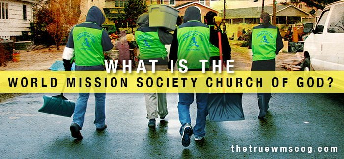 What Is the World Mission Society Church of God?