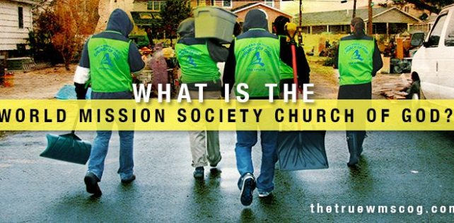 What is the World Mission Society Church of God - Sandy Clean Up