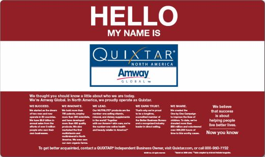 brand awareness of amway Brand awareness brand awareness is the probability that consumers are familiar about the life and availability of the product it is the degree to which consumers precisely associate the brand with the specific product.