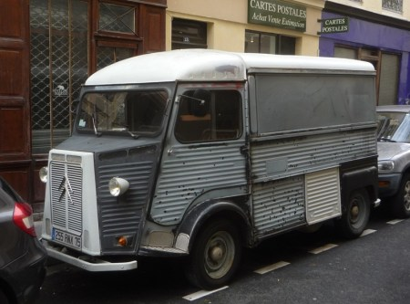 the iconic Citroen H Van
