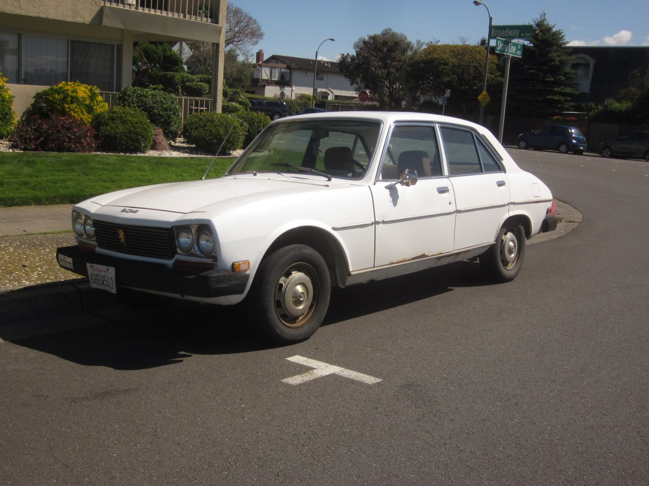 down on the street: peugeot 504 diesel - the truth about cars
