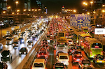 Shanghai traffic. Picture courtesy of Flickr