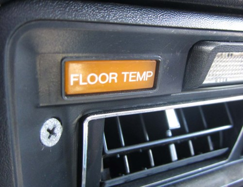 small resolution of what s the deal with those floor temp warning lights in malaise era datsuns the truth about cars