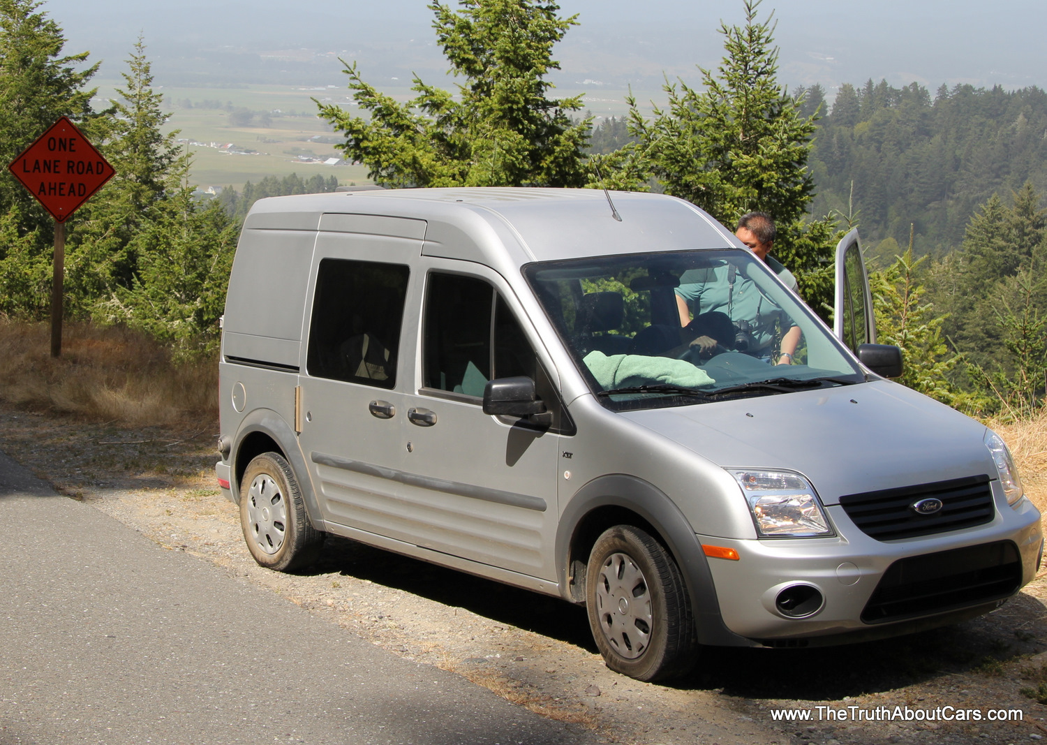 2012 ford transit connect exterior front 3 4 view photography courtesy of